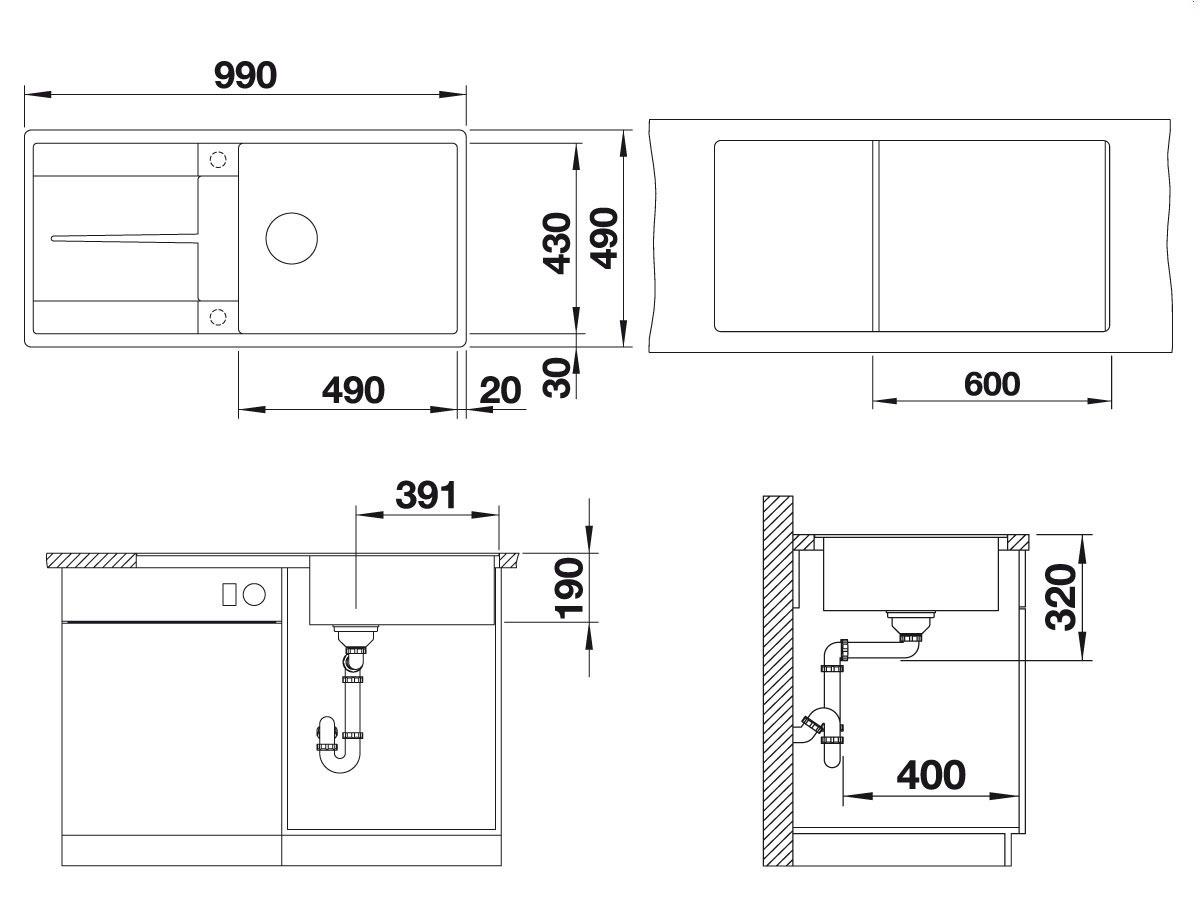 blanco metra xl 6s. Black Bedroom Furniture Sets. Home Design Ideas